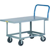 Little Giant® Work Height Platform Truck RNB-3060-6MR - 30 x 60 - Mold-On Rubber Wheels
