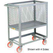 Little Giant® Raised Platform Box Truck RP3X-3048-6PY, 3 Expanded Metal Sides 30x48 2000