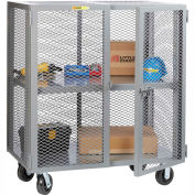 Little Giant® Mobile Storage Locker SCA-2448-6PH Adjustable Shelf 24x48 Phenolic Wheels