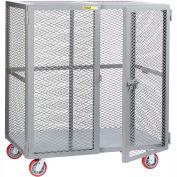 Little Giant® Mobile Storage Locker SCN-3660-6PPY, 36 x 60, Polyurethane Wheels