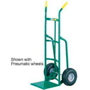 Little Giant® Reinforced Nose Hand Truck T-220-10 Dual Handle 10x2.75 Rubber Tire