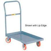 Little Giant® Steel Deck Platform Truck T-710-UPS 24x36 Flush Edge Polyurethane