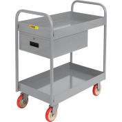"Little Giant® Tray Truck with Drawer TT-2436-5PYDR, 24 x 36, 3"" Deep Tray"