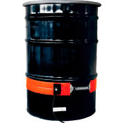 Briskheat DHCH25 Silicone Heater for 55 Gallon Metal Drum - 240 Volts 50-425°F - Extra Heavy Duty