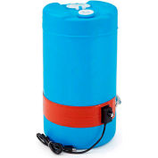 Briskheat DPCS11 Silicone Heater for 15 Gallon Plastic Drum - 120 Volts 50-160°F - Heavy Duty