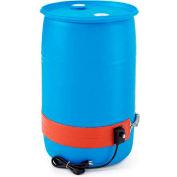 Briskheat DPCS13 Silicone Heater for 30 Gallon Plastic Drum - 120 Volts 50-160°F - Heavy Duty