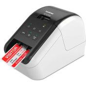 Brother® Ultra-Fast Label Printer w/ Wireless Networking, QL810W, White & Black