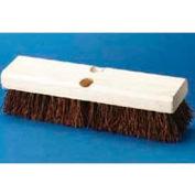 "10"" Hardwood Deck Brush Head W Palmyra Fiber Bristles - BWK3110 - Pkg Qty 12"