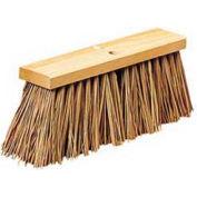 """16"""" Street Broom Head W/ Palmyra Bristles - BWK71160 - Pkg Qty 12"""