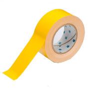 "Brady® 104312 ToughStripe Floor Marking Tape, Polyester, 2""W X 100'L, Yellow"