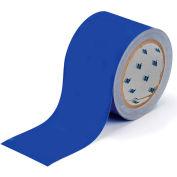 """Brady® 104314 ToughStripe Floor Marking Tape, Polyester, 2""""W X 100'L, Blue"""