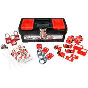 Brady® Personal Breaker Lockout Toolbox Kit, 105694