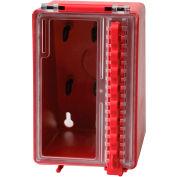 """Brady® 50938 Mini Wall Mounted Lock Box, Plastic, 4""""W x 6-3/16""""H"""