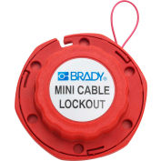 Brady® 50940 Mini Cable Lockout With 8'L Metal Cable