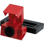 Brady® 65329 480/60V Oversized Clamp-On Breaker Lockout, Polypropylene