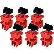 Brady® 66320 Multi-Pole Breaker Lockout, 6/Pack