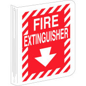 "Brady® 70998 Fire Extinguisher ""L"" Sign, Polyethylene, 9""W x 12""H"