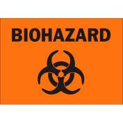 """Brady® 89170 Biohazard (Bloodborne Pathogen) Sign, Polyester, 5""""W x 3.5""""H"""