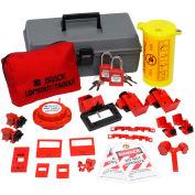 Brady® Electrical Toolbox Lockout Kit w/Safety Padlocks, 99312