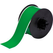 "Brady® B30 Indoor-Outdoor Industrial Vinyl Labels, 2-1-4""W X 100'L , Green, B30C-2250-595-GN"