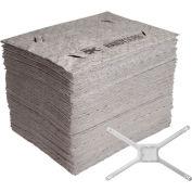 Brady® HANDYSORB-BASICPAD HandySorb Basic Pad Refills with Mop Adapter, 100 Pads, Polypropylene