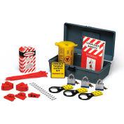 """Brady® LKX Economy Lockout Kit With Toolbox, Polycarbonate, 12""""W x 5""""H"""