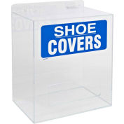 "Brady® PD322E Shoe Cover Dispenser, Acrylic, 12""W x 14""H"