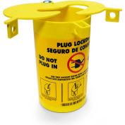 """Brady® PLO23 3-In-1 Plug Lockout, Thermoplastic, 5-3/16""""W x 6-1/4""""H"""