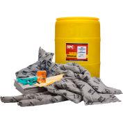 Brady SPC® SKA-55 ALLWIK® Universal Spill Kit, 55 Gallon Drum