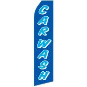 Car Wash - Blue/Blue Flag Banner - FB-0308
