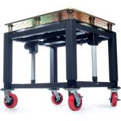 "Built Systems 78""W x 46""D Welding Table -3500LB  Capacity - Black"