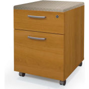 Pro-Biz Mobile Pedestal in Cappuccino Cherry - Fully Assembled