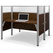 Pro-Biz Double Face to Face Workstation in Chocolate 55-1/2""
