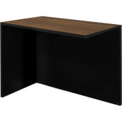 Bestar® Pro-Concept Return Table in Milk Chocolate Bamboo & Black