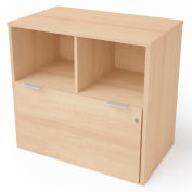 """Bestar® Lateral File Cabinet 1 Drawer 30-1/8""""W x 18-3/16""""D x 28-1/2""""H Northern Maple"""