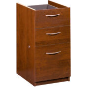 Embassy Pedestal in Tuscany Brown (Ready-to-assemble)