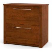 """Bestar® 30"""" Lateral File Cabinet - Tuscany Brown - Embassy Series"""