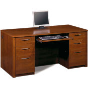 Embassy Executive Desk Kit in Tuscany Brown