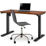 """Bestar® Electric Height Adjustable Table - 48""""L x 24""""W - Tuscany Brown"""