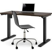 "Bestar® Electric Height Adjustable Table - 48""L x 24""W - Dark Chocolate"