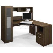 Bestar® Jazz Corner Workstation in Tuxedo