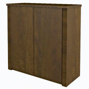 "Prestige + 36"" Cabinet in Chocolate"