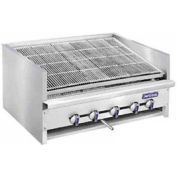 "Steakhouse Broiler, Countertop, Nat Gas, 30"" Wide, Char-Rock, 135,000 BTU"
