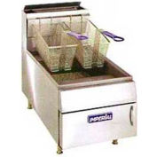 Fryer, Counter Top, Lp Gas, 25 Lb. Fat Cap, 65,000 BTU