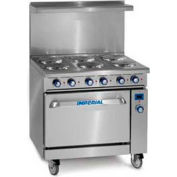 "Imperial Restaurant Series Range, 36"", 208 Electric - IR-6-E"
