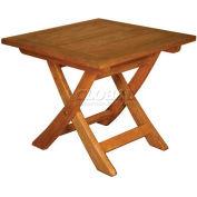 TERRACE MATES® ASPEN Outdoor Folding End Table - Square