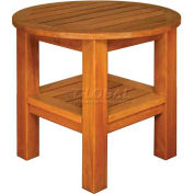 TERRACE MATES® Two Shelf High End Table - Round