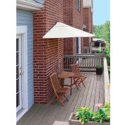 TERRACE MATES® BISTRO Economy 7.Outdoor 5 Ft. Natural Sunbrella Outdoor 5 Pc. Set