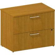 "Bush® 300 Series 2-Drawer Lateral File, 300SFL236MCK, 36""W, Cherry"