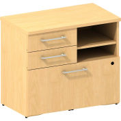 "Bush® 300 Series Lower Piler/Filer Cabinet, 300SFP30AC, 30""W, Maple"